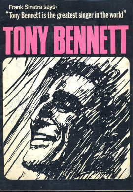Vintage Tony Bennett 16 page Programme undated ref101527 Stan Reynolds and His Orchestra - Tony Bennett accompanied by a thirty-two piece orchestra. Musical Director John Bunch. Pre-owned item. Writing on front.