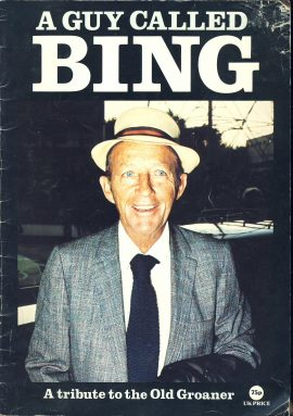 A Guy Called BING Tribute 1977 32 page magazine ref101528 Pre-owned item. Published in Great Britian.