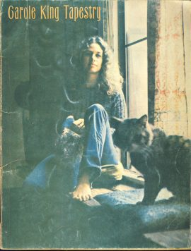 Carole King Tapestry 78 page Songbook ref101531music and words Pre-owned item. A vintage publication (undated) A&M AMLS 2025 CHAPPELL for piano - vocal / easy piano - easy organ
