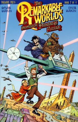 Book 2 The Remarkable Worlds of Professor Phineas B Fuddle VGC ref101561 Boaz Yakin & Erez Yakin Paradox Press 2000 Graphic Novel / Comic in very good read condition.