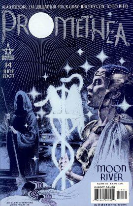 PROMETHEA 14 June 2001 Moon River Comic VGC ref101566 Alan Moore