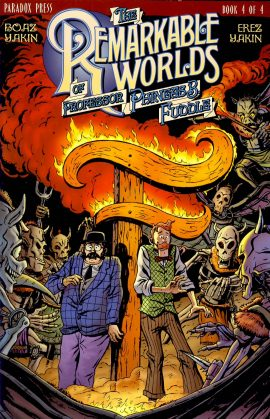 Book 4 The Remarkable Worlds of Professor Phineas B Fuddle VGC ref101568 Boaz Yakin & Erez Yakin Paradox Press 2000 Graphic Novel / Comic in very good read condition.