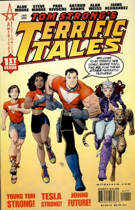 Tom Strongs TERRIFIC TALES 1st Issue Comic VGC ref101570 January 2002 Comic in very good read condition.