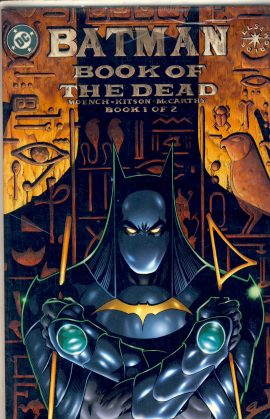BATMAN BOOK OF THE DEAD Moench Kitson McCarthy VGC ref101572 Book 1 of 2 June 1999 Graphic Novel in very good condition.