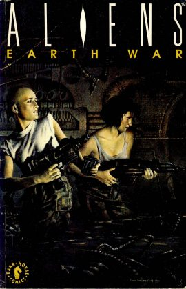 ALIENS Vol.2 EARTH WAR July 1991 Dark Horse Graphic Novel ref101554 Publication in good read condition.