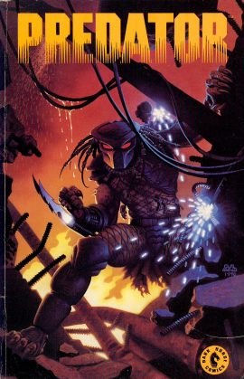 PREDATOR Vol.1 Dark Horse 1990 Graphic Novel ref101574 Publication in good read condition.