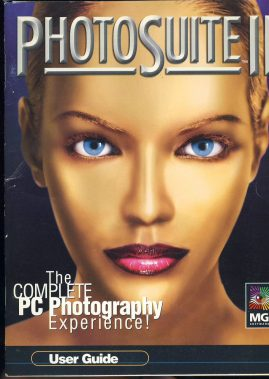 PhotoSuite II User Guide 1998 PS2PG10 - 832P.1 ref101576 measures approx 23cm x 18cm - 42 pages plus contents pages. This is pre-owned in very good read condition.