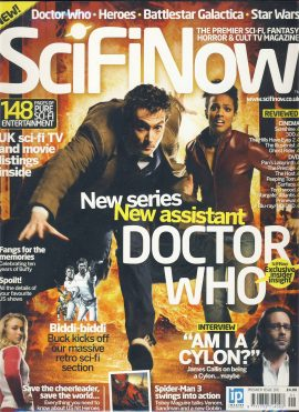SciFiNow magazine Doctor Who Premier Issue 01 ref101584 pre-owned in good read condition.