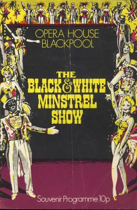 1976 LENNY HENRY Black and White Minstrel Show BLACKPOOL OPERA HOUSE vintage theatre programme ref101607 Cast biography section includes photos and information about Lenny Henry