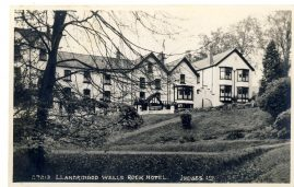 Llandrindod Wells ROCK HOTEL Judges Hastings vintage postcard 27213 Postcard Picture by Judges Ltd Hastings England. refP7 Pre-owned in good condition.
