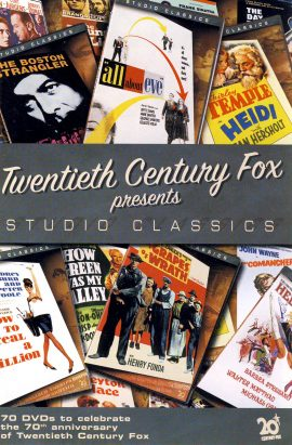 Twentieth Century Fox STUDIO CLASSICS 2005 booklet 38 pages measures approx 12cm x 18cm ref101637 small magazine pre-owned in good read condition.