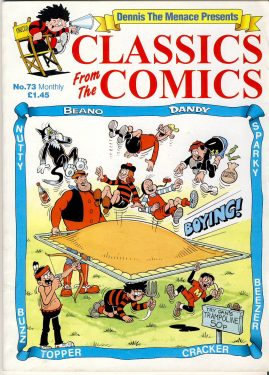 Dennis the Menace Presents Classics from the Comics no.73 ref101643 64 page magazine pre-owned in good read condition.