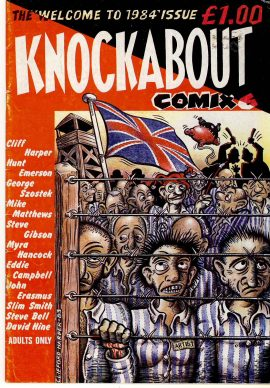 1984 Issue KNOCKABOUT COMIX Comic ref101645 Vintage magazine pre-owned in good clean read condition. ADULTS ONLY