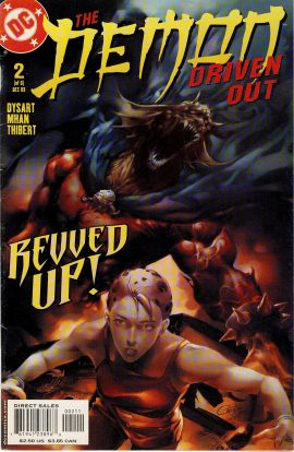2003 The Demon Driven Out DC COMIC graphic novel ref101647 Graphic novel / comic pre-owned in very good read condition.