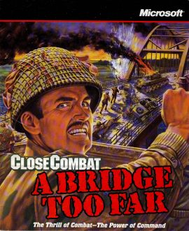 CLOSE COMBAT A Bridge Too Far 1997 Instructions Microsoft ref101656 58 page vintage publication / guide book measures approx 22cm x  18cm  pre-owned in good read condition. BOOKLET ONLY