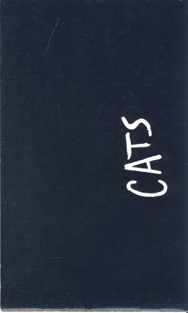 1986 CATS New London Theatre Drury Lane Vintage Theatre Programme ref101692 Vintage brochure is pre-owned in used condition. Measure approx 23cm x 14cm