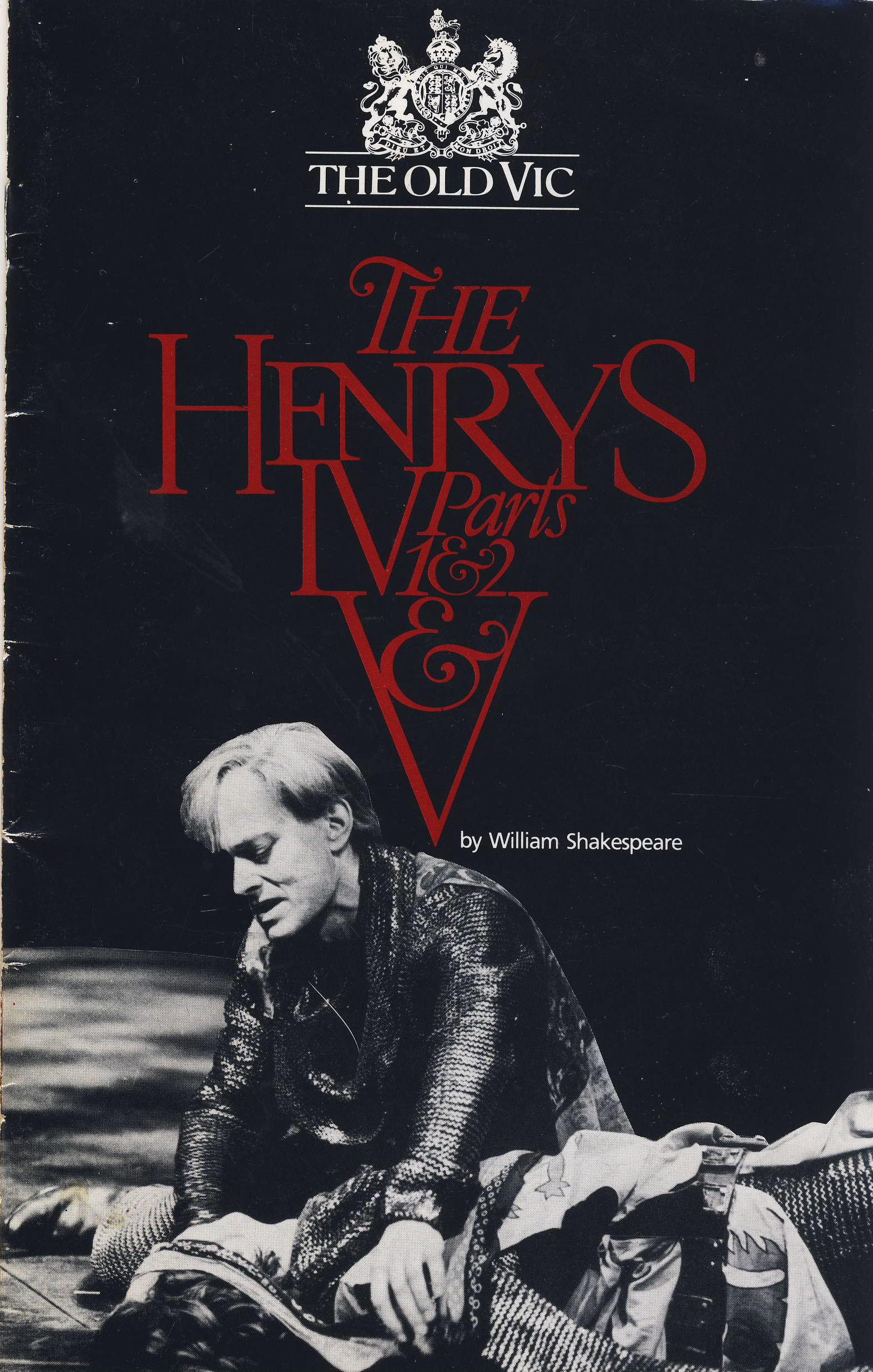 1987 The Henrys PATRICK O'CONNELL Vintage OLD VIC Theatre Programme cast list also includes Michael Pennington