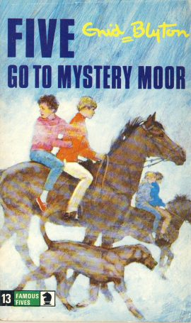 The Famous Five GO TO MYSTERY MOOR 1977 Enid Blyton vintage paperback book Book number 13 . Cover illustration by Betty Maxey KNIGHT paperback book pre-owned in good used condition. Please see photos for details.