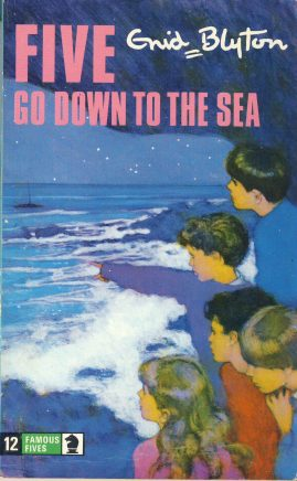 The Famous Five GO DOWN TO THE SEA  1978Enid Blyton vintage paperback book Book number 12. Cover illustration by Betty Maxey KNIGHT paperback book pre-owned in very good used condition. Please see photos for details.