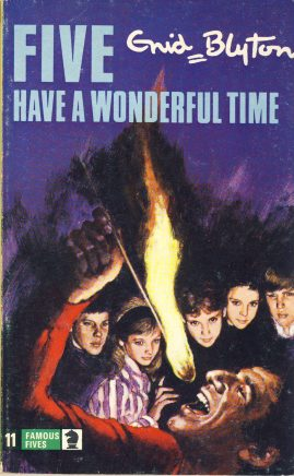 The Famous Five Enid HAVE A WONDERFUL TIME 1976 Blyton vintage paperback book Book number 11. Cover illustration by Betty Maxey KNIGHT paperback book pre-owned in very good used condition. Please see photos for details.