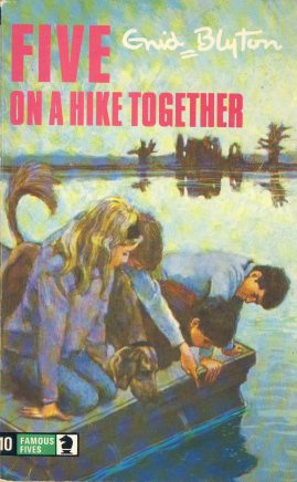 The Famous Five ON A HIKE TOGETHER 1975 Enid Blyton vintage paperback book Book number 10. Cover illustration by Betty Maxey KNIGHT paperback book pre-owned in very good used condition. Please see photos for details.