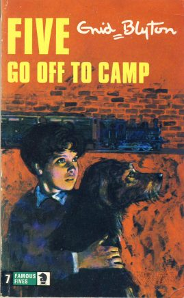 The Famous Five GO OFF TO CAMP 1977 Enid Blyton vintage paperback book Book number 7. Cover illustration by Betty Maxey KNIGHT paperback book pre-owned in very good used condition. Please see photos for details.