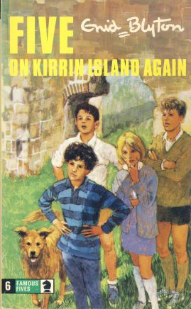 The Famous Five ON KIRRIN ISLAND AGAIN 1974 Enid Blyton vintage paperback book Book number 6. Illustrated by Eileen Soper KNIGHT paperback book pre-owned in very good used condition. Please see photos for details.