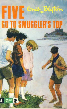 The Famous Five GO TO SMUGGLERS TOP 1976 Enid Blyton vintage paperback book Book number 4. Cover illustration by Betty Maxey KNIGHT paperback book pre-owned in very good used condition. Please see photos for details.