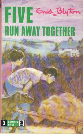 The Famous Five RUN AWAY TOGETHER 1977 Enid Blyton vintage paperback book Book number 3. Cover illustration by Betty Maxey KNIGHT paperback book pre-owned in very good used condition. Please see photos for details.
