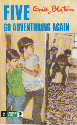 The Famous Five GO ADVENTURING AGAIN 1976 Enid Blyton vintage paperback book Book number 2. Cover illustration by Betty Maxey KNIGHT paperback book pre-owned in very good used condition. Please see photos for details.