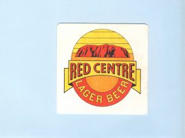 AYERS ROCK Uluru Red Centre Lager Beer Cardboard Coaster vintage souvenir refS5  a pre-owned vintage item in good condition. Measures approx 9cm x 9cm from Australia