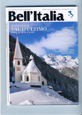 Bell'Italia 2010 small magazine Italian text refS5 145 pages approx 17cm x 13cm - a pre-owned item in very good condition.