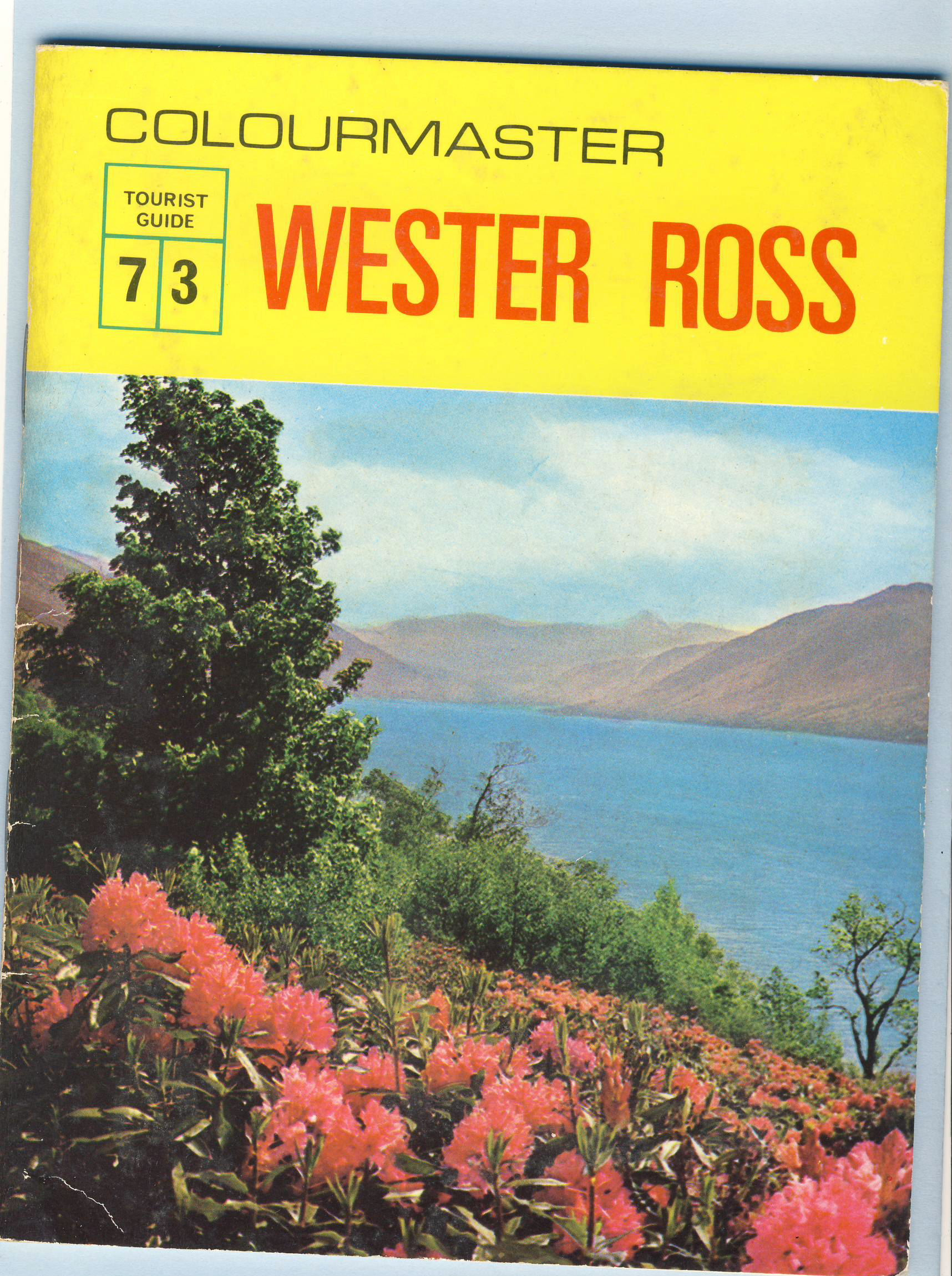 WESTER ROSS Colourmaster Tourist Guide 7 / 3 refS5 a pre-owned vintage item in good condition.  32 pages booklet measures 18cm x 14cm approx