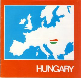 1974 Hungary Colour Vintage Brochure  refS5 16 pages plus text insert