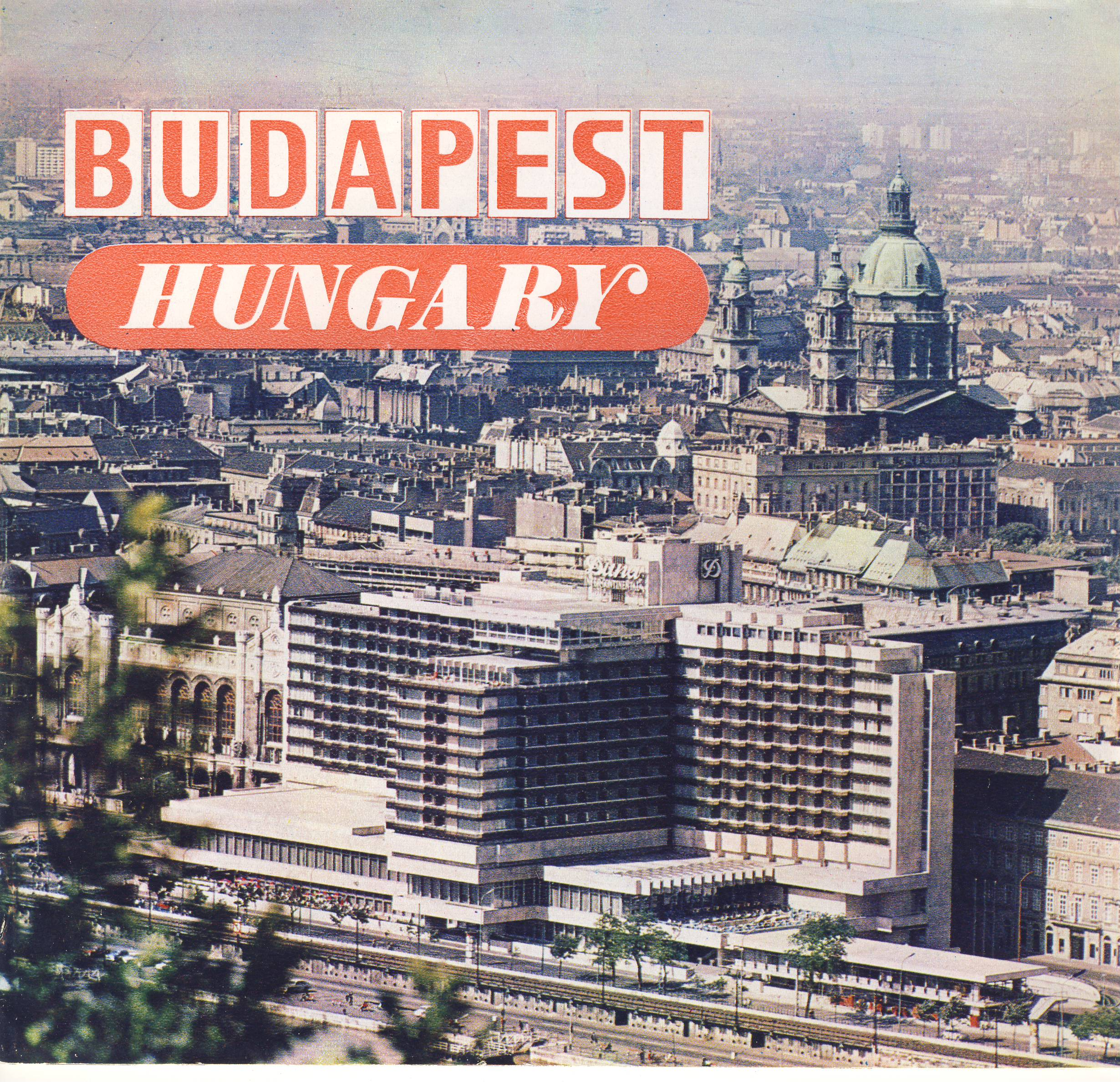 1974 BUDAPEST Hungary Colour Vintage Brochure  refS5 16 pages plus text insert