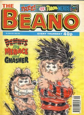 1996 July 20th BEANO vintage comic Good Gift Christmas Present Birthday Anniversary ref201 a pre-owned item in very good read condition.