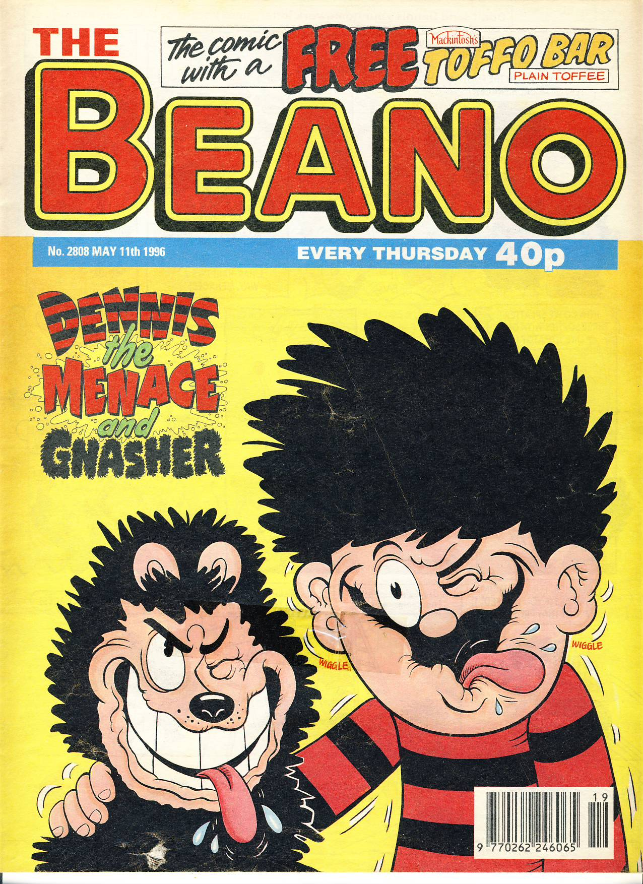 1996 May 11th BEANO vintage comic Good Gift Christmas Present Birthday Anniversary ref203 a pre-owned item in very good read condition.