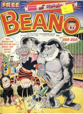 1999 April 24th BEANO vintage comic Good Gift Christmas Present Birthday Anniversary ref204 a pre-owned item in very good read condition.
