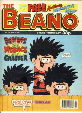 1995 July 1st BEANO vintage comic Good Gift Christmas Present Birthday Anniversary ref205 a pre-owned item in very good read condition.