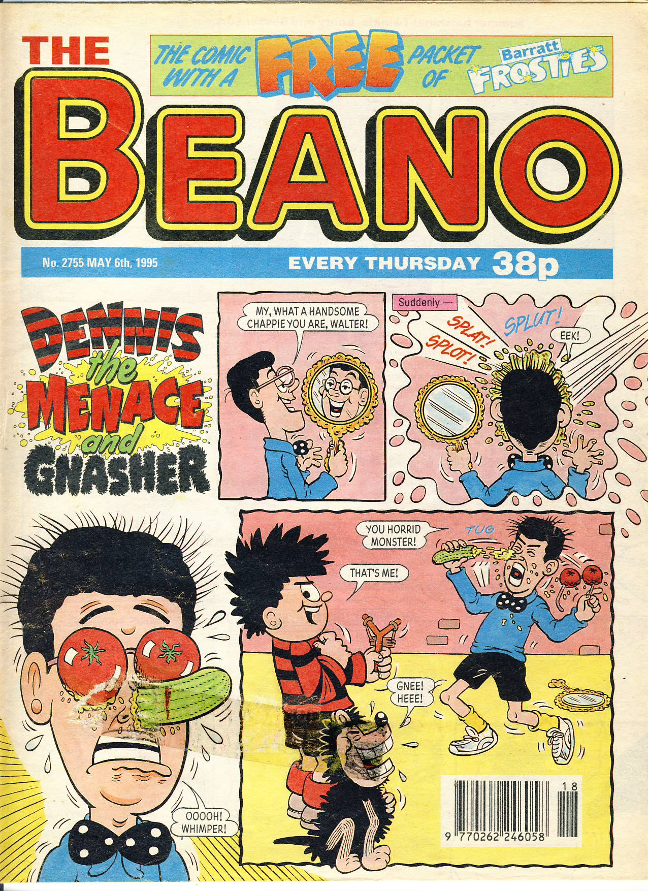 1995 May 6th BEANO vintage comic Good Gift Christmas Present Birthday Anniversary ref206 a pre-owned item in very good read condition.