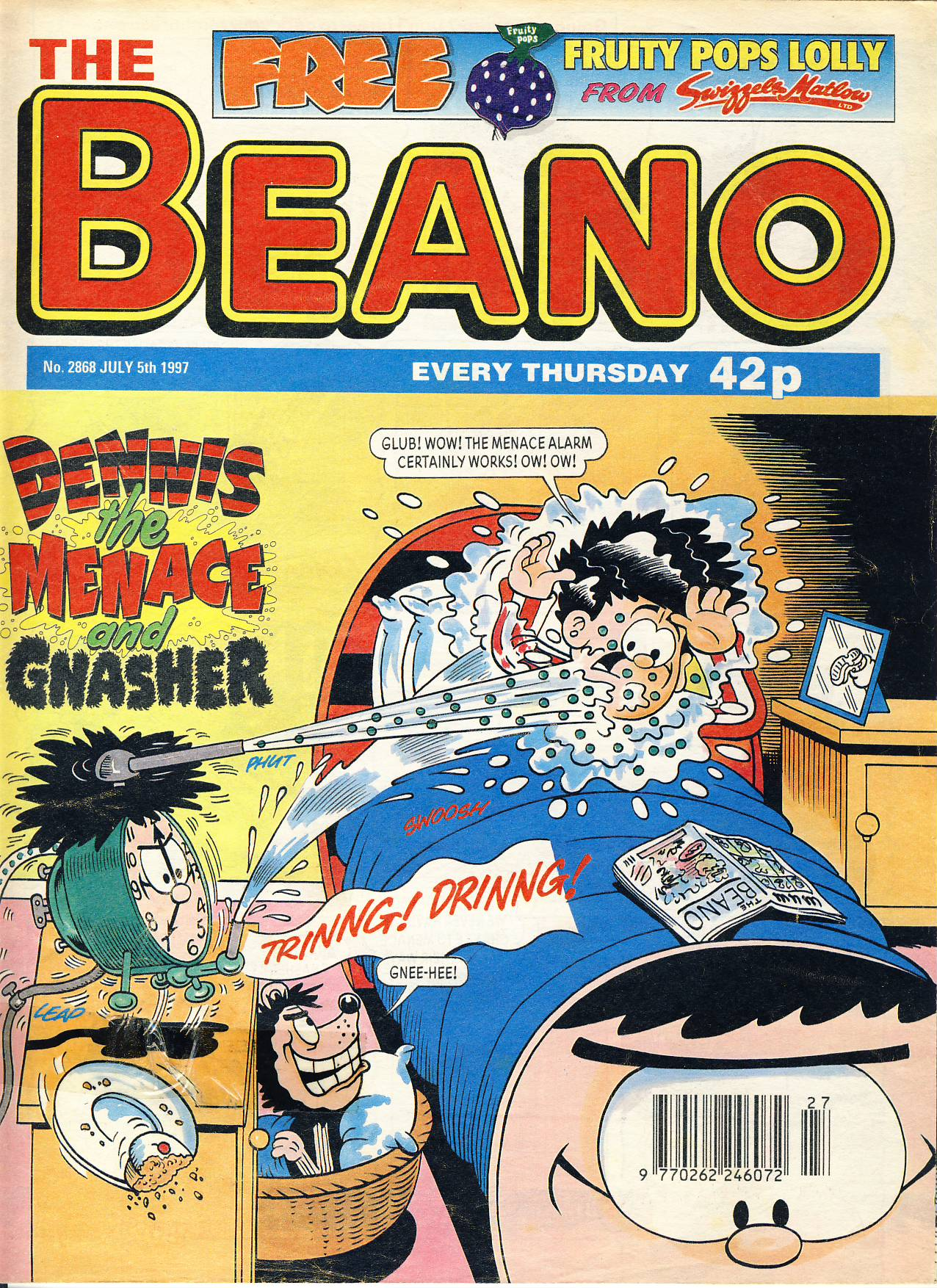 1997 July 5th BEANO vintage comic Good Gift Christmas Present Birthday Anniversary ref210 a pre-owned item in very good read condition.