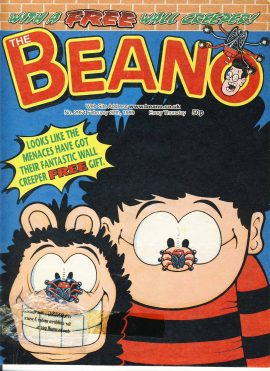1999 February 27h BEANO vintage comic Good Gift Christmas Present Birthday Anniversary ref216 a pre-owned item in very good read condition.