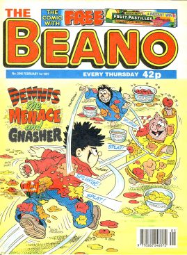 1997 February 1st BEANO vintage comic Good Gift Christmas Present Birthday Anniversary ref218 a pre-owned item in very good read condition.