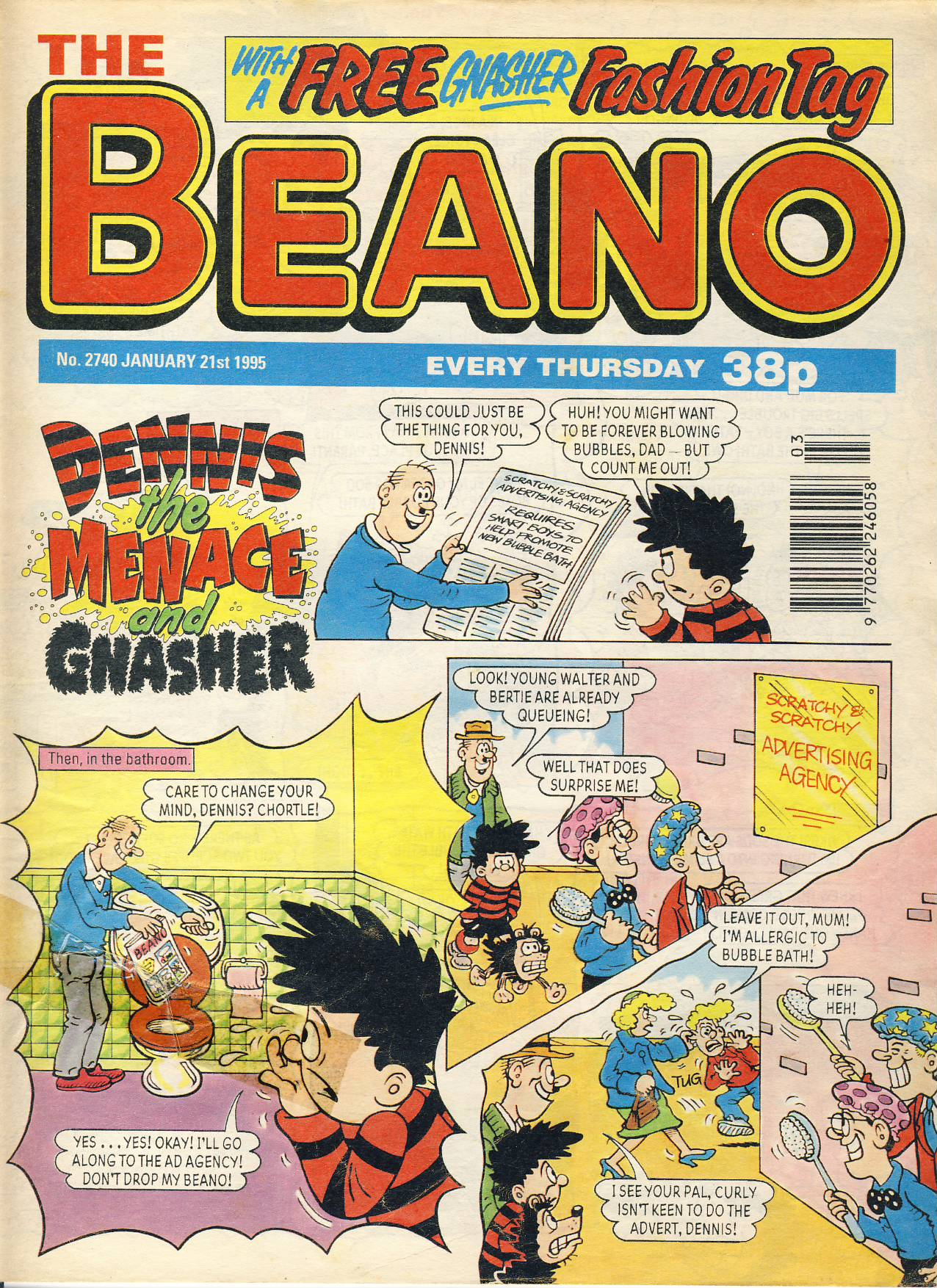 1995 January 21st BEANO vintage comic Good Gift Christmas Present Birthday Anniversary ref221 a pre-owned item in very good read condition.