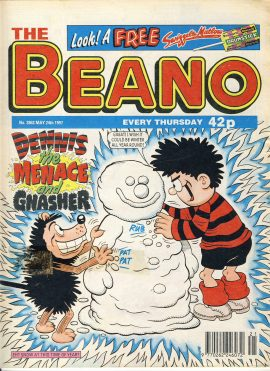 1997 May 24th BEANO vintage comic Good Gift Christmas Present Birthday Anniversary ref222 a pre-owned item in very good read condition.