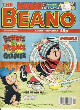 1998 June 13th BEANO vintage comic Good Gift Christmas Present Birthday Anniversary ref223 a pre-owned item in very good read condition.