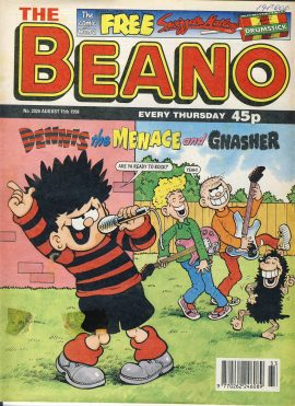 1998 August 15th BEANO vintage comic Good Gift Christmas Present Birthday Anniversary ref225 a pre-owned item in very good read condition.