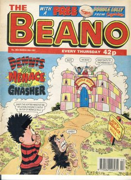 1997 March 29th BEANO vintage comic Good Gift Christmas Present Birthday Anniversary ref231 a pre-owned item in very good read condition.