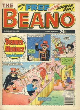 1997 June 14th BEANO vintage comic Good Gift Christmas Present Birthday Anniversary ref234 a pre-owned item in very good read condition.