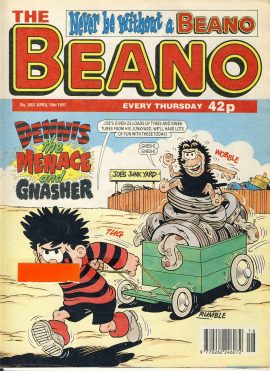 1997 April 19th BEANO vintage comic Good Gift Christmas Present Birthday Anniversary ref235 a pre-owned item in very good read condition.